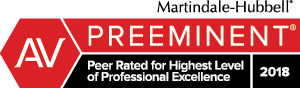 Preeminent AV Rated